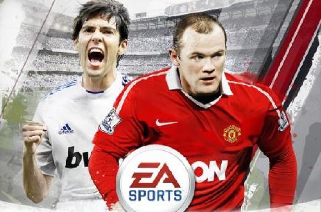 FIFA 11 Cover Kaka and Rooney