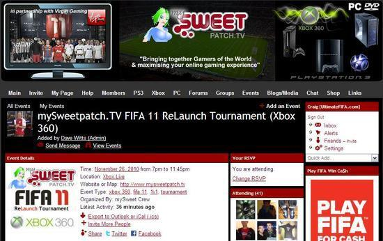 mySweetpatch.TV FIFA 11 Relaunch Tournaments mysweetpatchtv
