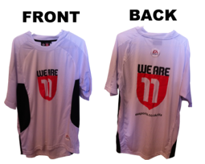 mySweetpatch.TV FIFA 11 Relaunch Tournaments weare11tshirt