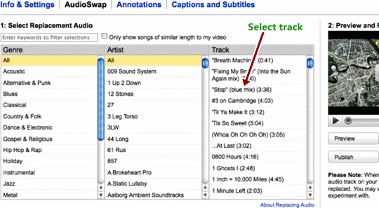 Audio Swap: Quick Solution for Youtube Copyright Audio Ban Prevent Your Youtube Video Removed by Copyright Issues