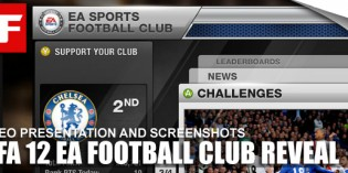 FIFA 12 – E3 EA Football Club Reveal