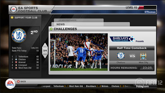 FIFA 12 - E3 EA Football Club Reveal EASCREEN22