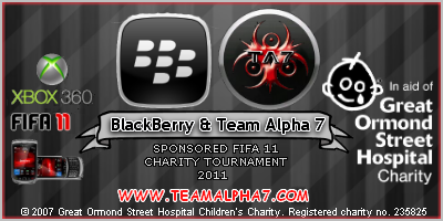 BlackBerry and Team Alpha 7 Host Charity FIFA 11 Tournament blackberrygosh