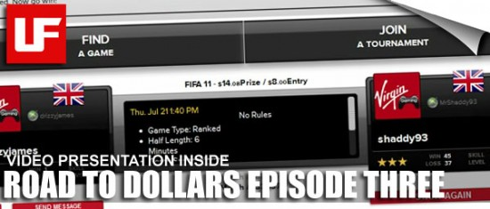 "Virgin Gaming Road to Dollars 3  VirginGaming Road to Dollars - Episode Three ""Realmadriditus"" Drizzy3"