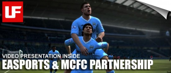 EASPORTS Manchester City  EASPORTS Are New Manchester City Football Club Partners  FIFA 12 Mancester City