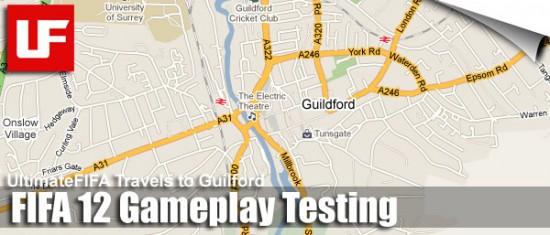 FIFA 12 Testing  FIFA 12 Gameplay Testing at EA Guildford FIFA 12 Test