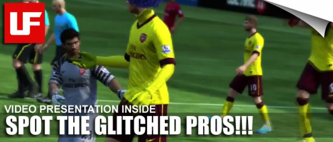 FIFA 11 Glitched Pros