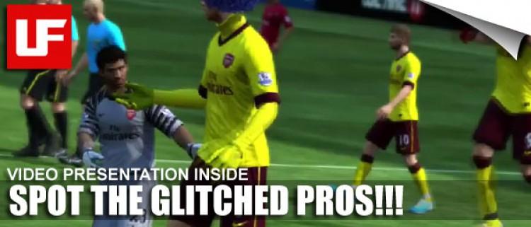 FIFA 11 Glitched Pros