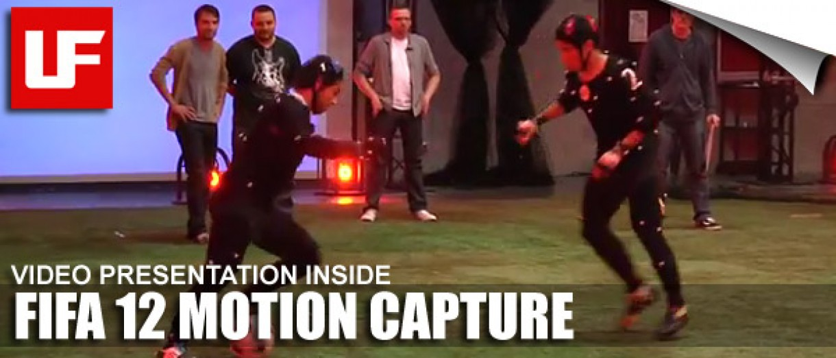FIFA 12 Motion Capture