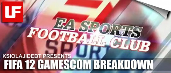 FIFA 12 GAMESCOM TRAILER BREAKDOWN  FIFA 12 Gamescom Trailer Breakdown by KSIOlajidebt 14