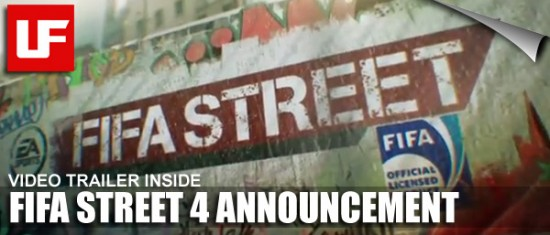 FIFA STREET 4  FIFA STREET 4 To Be Released 15