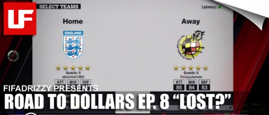 "FIFADrizzy Virgin Gaming FIFA 11 Road to Dollars  FIFADrizzy's FIFA 11 Road to Dollars - Ep 8 ""LOST?"" 16"