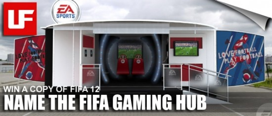 FIFA 12 Gaming Hub  Name FIFA Gaming Hub and Win FIFA 12 2