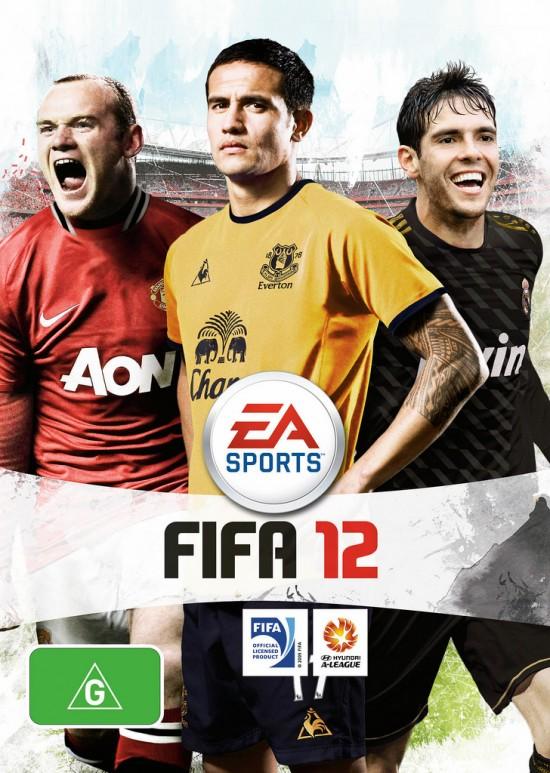 Australian FIFA 12 Cover  7 FIFA 12 Pack Covers Australian FIFA 12 Cover