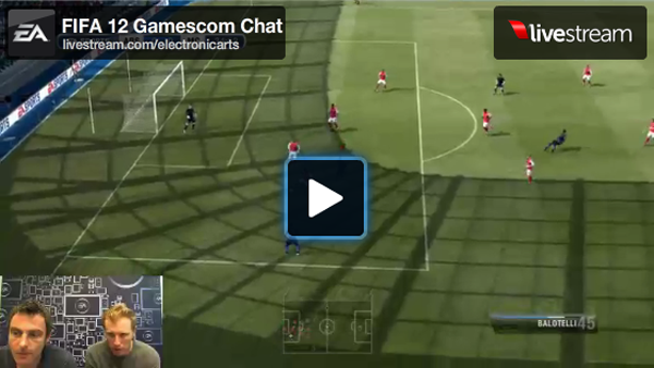 FIFA 12 Gamescom Chat