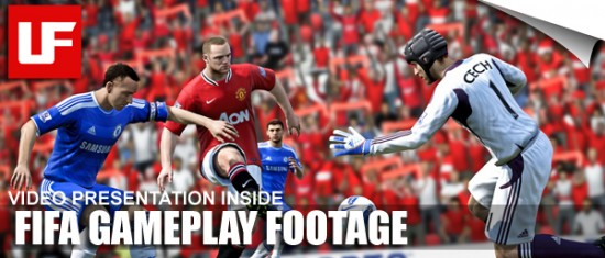 FIFA 12 Gamescom Gameplay Footage  FIFA 12 Gamescom Gameplay Footage FIFA 12 Gamescom Gameplay Footage