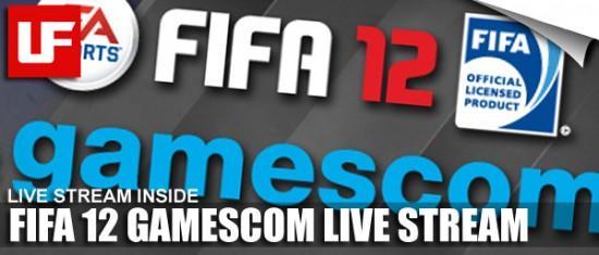 FIFA 12 Gamescom Live Stream  FIFA 12 GAMESCOM LIVE STREAM FIFA 12 Gamescom Live Stream1