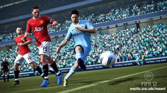 FIFA 12 Nasri Man City