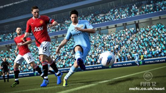 FIFA 12 Nasri Man City  Nasri Scores His First Goal for Man City FIFA 12 Nasri Man City