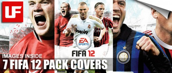 FIFA 12 PACK COVERS  7 FIFA 12 Pack Covers FIFA 12 PACK COVERS