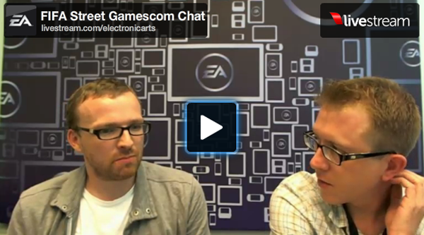 FIFA Street 4 Gamescom Chat