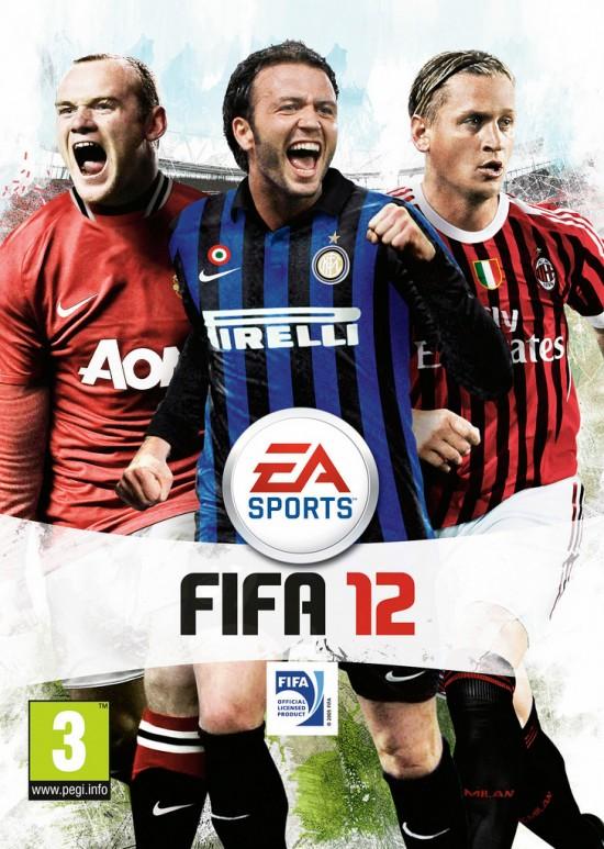 Italian FIFA 12 Cover  7 FIFA 12 Pack Covers Italian FIFA 12 Cover