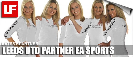 Leeds Partner EA SPORTS  Leeds United Partner EA Leeds Partner EA SPORTS
