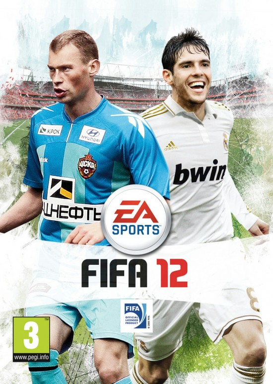 Russian FIFA 12 Cover  7 FIFA 12 Pack Covers Russian FIFA 12 Cover