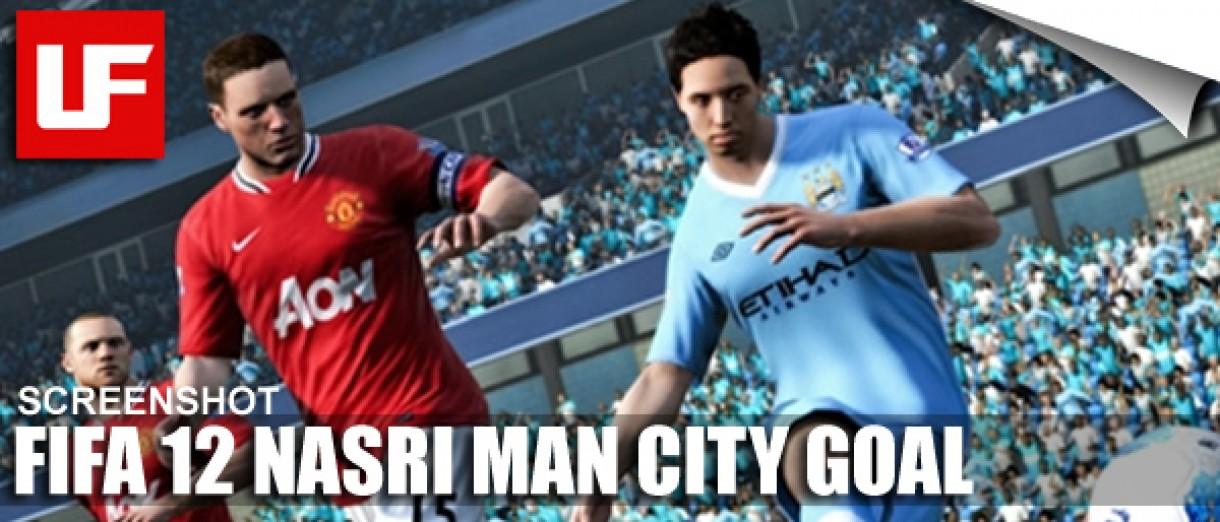 Samir Nasri Man City FIFA 12