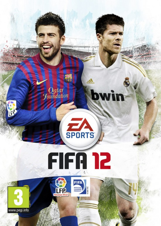 Spanish FIFA 12 Cover  7 FIFA 12 Pack Covers Spanish FIFA 12 Cover