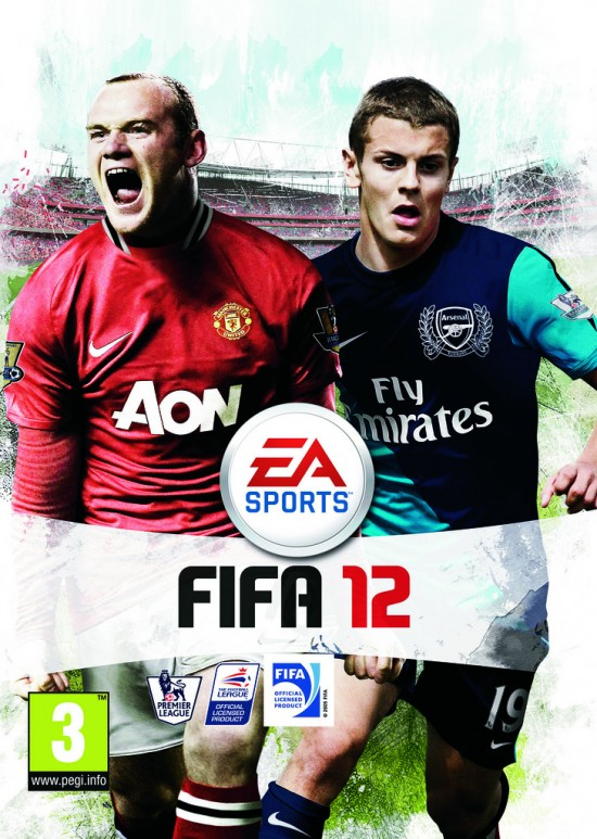 UK FIFA 12 Cover  7 FIFA 12 Pack Covers UK FIFA 12 Cover