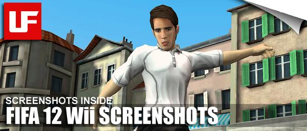 FIFA 12 WII Screenshots