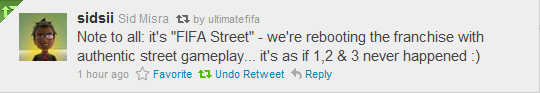 FIFA STREET 4 To Be Released sidsii
