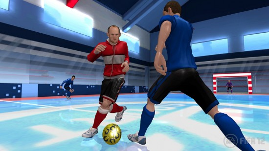 FIFA 12 Wii Screenshot Rooney