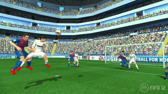 FIFA 12 Wii Screenshot FIFA Gameplay  FIFA 12 Wii Screenshots wii3