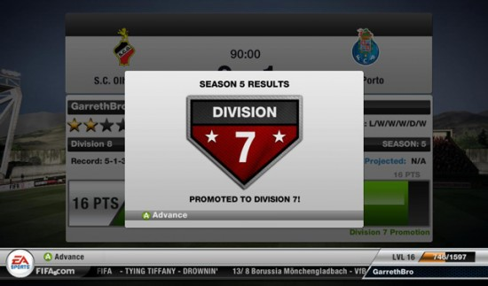 FIFA 12 Seasons  FIFA 12 Online Game Modes 02 FIFA12 online