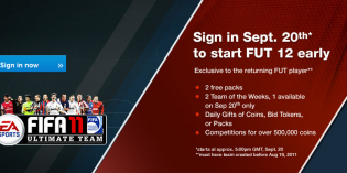 FIFA 12 Ultimate Team Web App Available