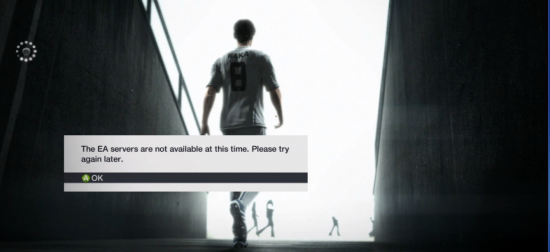 EA Servers Not Available  FIFA 12 Pro Clubs - The Flipside of Less New Features EA Servers