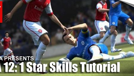 FIFA 12 Skill Moves Tutorial: Complete 1 Star Skills
