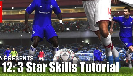 FIFA 12 Skill Moves Tutorial: Complete 3 Star Skills