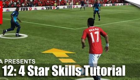 FIFA 12 Skill Moves Tutorial: Complete 4 Star Skills