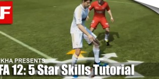 FIFA 12 Skill Moves Tutorial: Complete 5 Star Skills