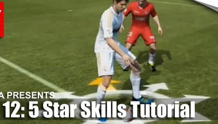 FIFA 12 Skill Moves Tutorial: Complete 5 Star Skills