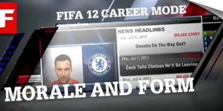 FIFA 12 Career Mode – Form and Morale