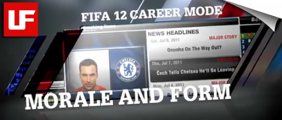 FIFA 12 Career Mode  FIFA 12 Career Mode - Form and Morale FIFA 12 Career Mode