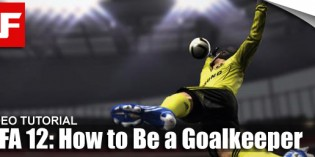 How to Play as Goalkeeper in FIFA 12