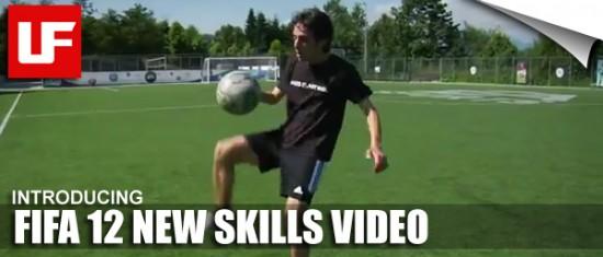 FIFA 12 New Skills Video  FIFA 12 New Skills Video FIFA 12 New Skills Video