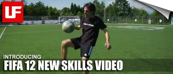 FIFA 12 New Skills Video