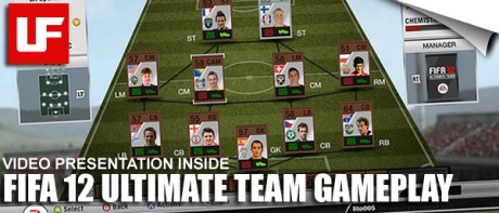 FIFA 12 Ultimate Team Gameplay