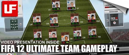 FIFA 12 Ultimate Team Gameplay  FIFA 12 Ultimate Team Videos FIFA 12 Ultimate Team Gameplay